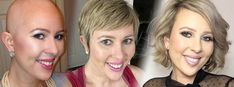 Short Hair After Chemo _ Growth Timelines Hair Growth After Chemo, New Hair Growth, Hair Growth Tips, Growing Hair After Chemo, Hair Tips, Losing Hair Women, Growing Out Hair, Dying Your Hair, Regrow Hair