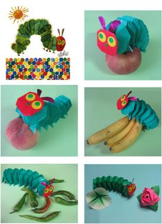 the Hungry Caterpillar.....inspired by Eric Carl