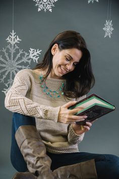 Knit from the bottom up, this pullover is a keeper. With a color similar to a warm chai latte, it's the cozy sweater you need to knit this winter. The sleeves allow movement and airflow so you won't be overly warm indoors.