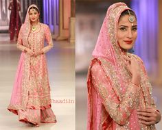 Nomi Ansari bridal collection - so similar to colour and style of what i wore for my wedding lunch!