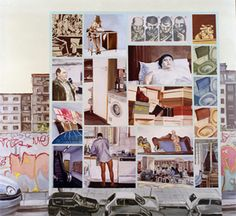 Artist/ Andrea Di Marco, Condom III, olio su tela, cm 160x140 (2000)