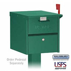 The Salsbury 4325 Roadside Mailbox - Front And Rear Access by Salsbury Industries is on sale now. Security Mailbox, Safety And Security, Cheap Mailboxes, Residential Mailboxes, Access Panel, Aleta, Home Safety, Tear, How To Be Outgoing