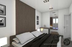 Lakás belső építészeti látványtervezés - Interior design rendering