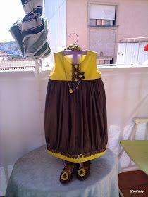 lanaytela.com: forrar vestido niña...