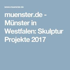 muenster.de - Münster in Westfalen: Skulptur Projekte 2017