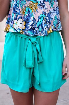 Jade Sash Tie Shorts   UOIOnline.com: Women's Clothing Boutique