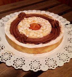 Crostata ciocco-arancia