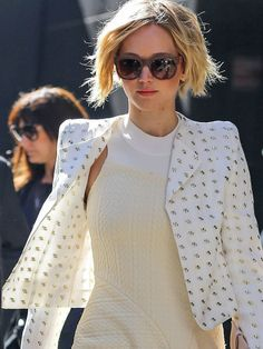 Jennifer Lawrence in NYC before her GMA Appearance
