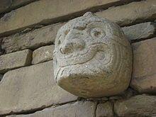 Cabeza clava en su ubicacion original 13122009 - Cabezas clavas - Wikipedia, la enciclopedia libre
