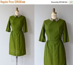 25% OFF THE SHOP... Clubview dress | vintage 1950s dress | wool 50s dress