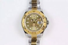 Rolex Yacht-Master 116622 JF Best Edition SS/YG Gold Dial on Bracelet A2836
