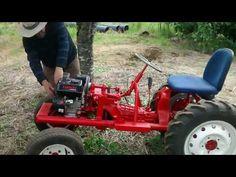 1960 's Pow'r Pup Power Popular Mechanics Magazine Garden Tractor Build Part 1 - YouTube