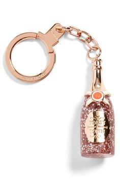 kate spade new york 'champagne bottle' bag charm