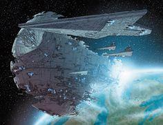 Deathstar II from 'Star Wars #3'