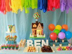 festa infantil do arco iris - Pesquisa Google
