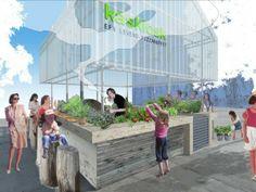 Bloot Architecture | Green house Kiosk (kaskiosk)