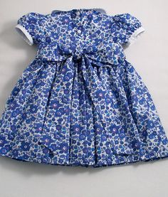 Liberty Indigo Blue Betsy Dress