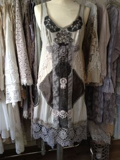 RAW RAGS beautiful handmade one of a kind dress by RAWRAGSbyPK