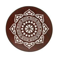 very large wall Stencils | Stencil Boss | Inlay Medallion Indian inspired Pattern Wall Stencil ...