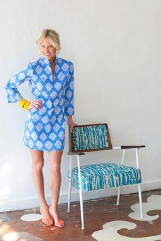 McLain+Tunic+Dress+by+DevonBaerDesigns+on+Etsy