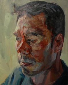 "lilithsplace: "" 'Man of Clay' (self-portrait), 2008 - Tai Shan Schierenberg (b. Figure Painting, Painting & Drawing, Painting Styles, Tai Shan Schierenberg, L'art Du Portrait, Portrait Paintings, A Level Art, Art Sketchbook, Figurative Art"