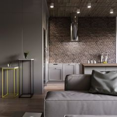 Urban Industrial Decor Tips From The Pros Have you been thinking about making changes to your home? Are you looking at hiring an interior designer to help you? Rather than hiring an expensive person to come in and offer to help, read Brick Interior, Home Interior Design, Interior Decorating, Style At Home, Loft Design, House Design, Scandinavian Style Home, Location Villa, Loft Interiors