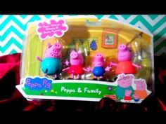 PEPPA PIG Toy Playset Unboxing / Playset with Peppa Pig, George, Mummy and…