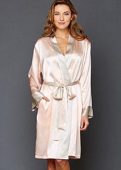2344de9a75 Charming Silk Robe
