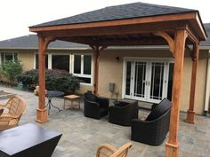 The leader in ready-to-assemble pergola kits shipped direct to you. Cedar, redwood, and fiberglass pergola kits both free-standing and attached Pergola Canopy, Wooden Pergola, Backyard Pergola, Pergola Kits, Pergola Ideas, Pergola Shade, Patio Ideas, Pergola Swing, Backyard Pavilion