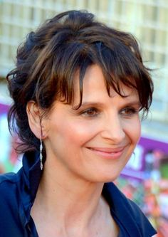 Juliette Binoche,  beautiful and smiling Lady !
