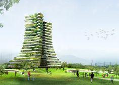 La ciudad de Bac Ninh, en Vietnam, quiere construir el Green City Hall, un…