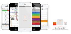 Transmilenio App Concept App iOS 7