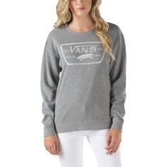 Authentic Trap Crew Sweatshirt | Shop Womens Sweatshirts At Vans