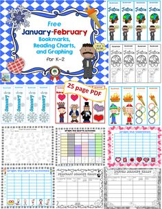 Free-Jan-Feb-bookmarks-read-chart-graphing