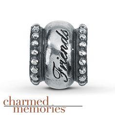 Charmed Memories® Best Friends Charm Sterling Silver