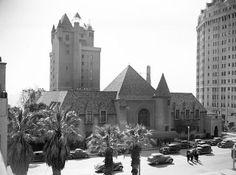 Pacific Coast Club on Ocean Aveue in Long Beach, CA circa 1938