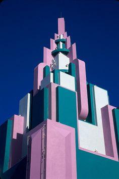 Art Deco style architecture, Miami, FL