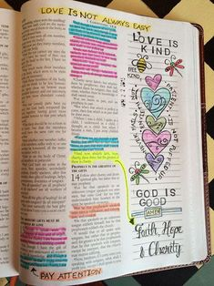 Bible Journalling - 1 Corinthians 13