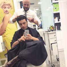 Era ora di tagliare un po i capelli... it's time to cut my hair!