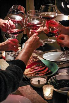 The holidays are packed tight with exuberant, noisy parties for work and family. Sometimes you need to give yourself the gift of a quiet dinner with friends. That's exactly the excuse you need #DuVino #wine www.vinoduvino.com