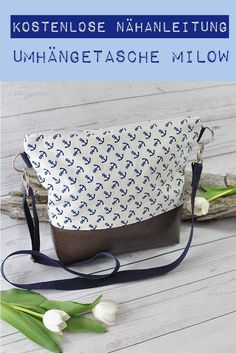 * Instructions * Shoulder bag Milow – sugar and cinnamon design – Bags Bag Jeans, Sewing Tutorials, Sewing Patterns, Sewing Hacks, Costura Diy, Diy Crafts To Do, Craft Free, Sewing Projects For Kids, Couture Sewing