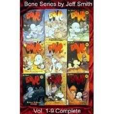 BONE graphic novel series by Jeff Smith