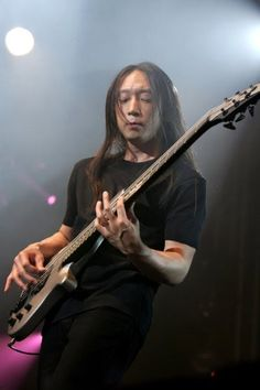 John Myung of Dream Theater           The Jelly Jam at The Newton Theatre 8/5/2016.