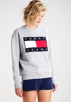 Hilfiger Denim TOMMY JEANS 90S - Sweatshirt - mottled grey für 129,95 € (28.04.17) versandkostenfrei bei Zalando bestellen.