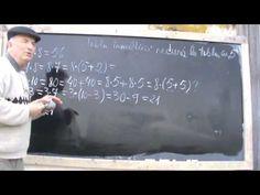 Bazele Matematicii: - Tabla Inmultirii prezentata intr-un mod inedit