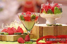 Velas de morango, por Peter Paiva. http://www.bemsimples.com/br/artesanato/80142-velas-de-morango