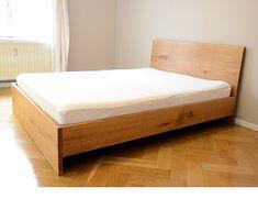 Raw U0026 Fine Simple Wood Bed