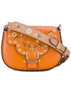 MARC JACOBS Studded 'Navigator' Saddle Bag. #marcjacobs #bags #shoulder bags #leather #