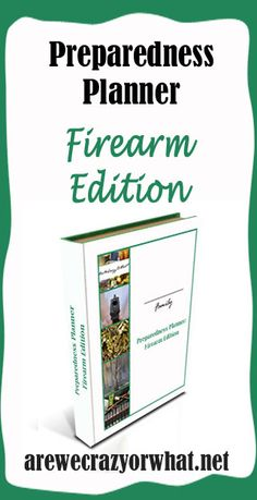 The most complete planner for firearms available. #beselfreliant