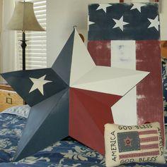 Texas Flag Star <3 love these!!